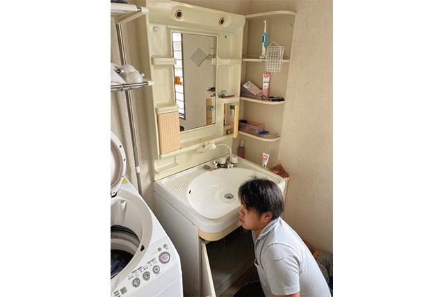 三重県 某所 洗面台設置工事