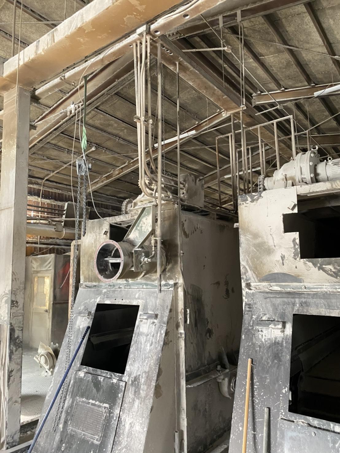 三重県某工場 プラント機器解体工事