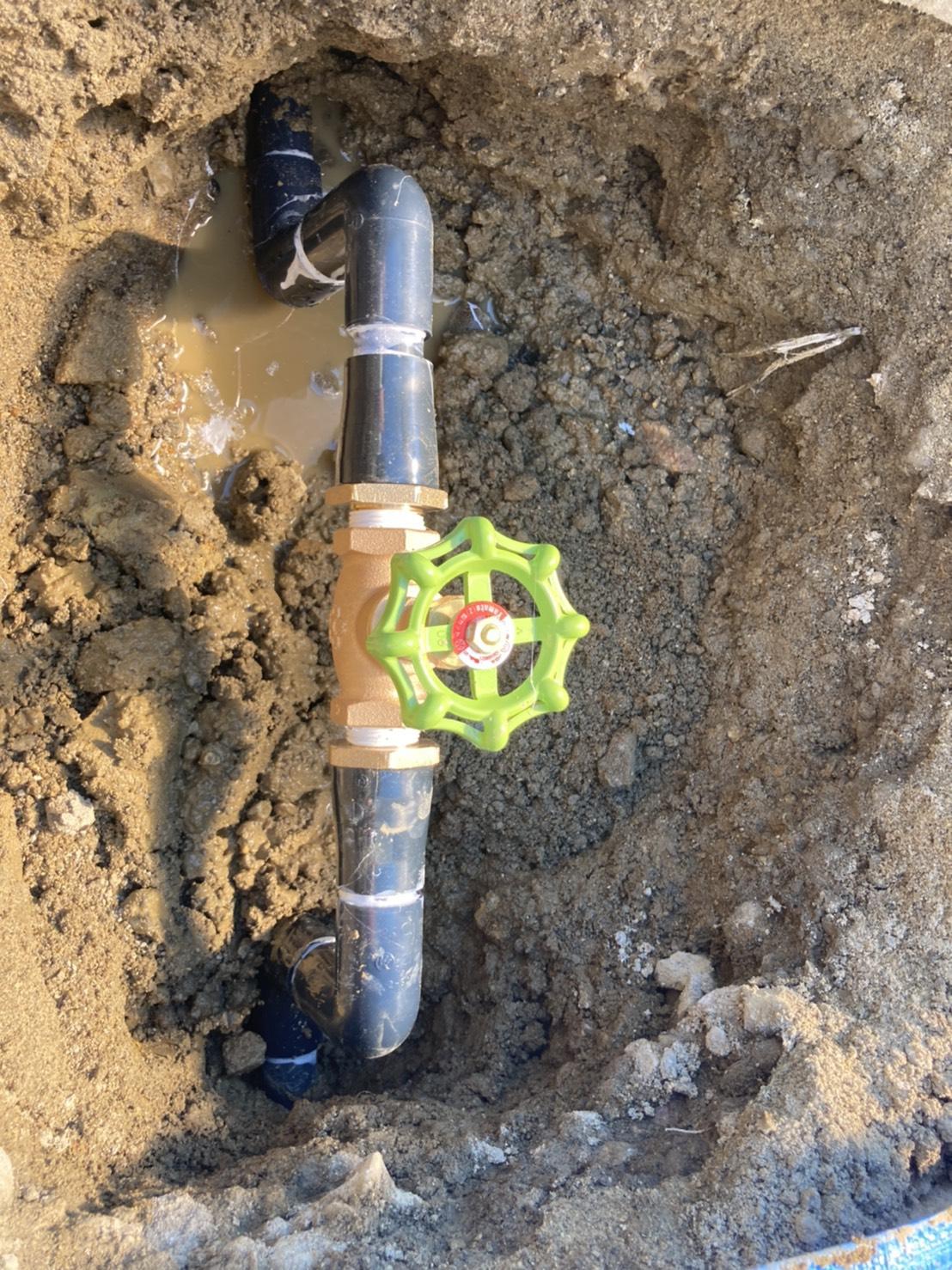 鈴鹿市 某保育園 水道工事 緊急対応